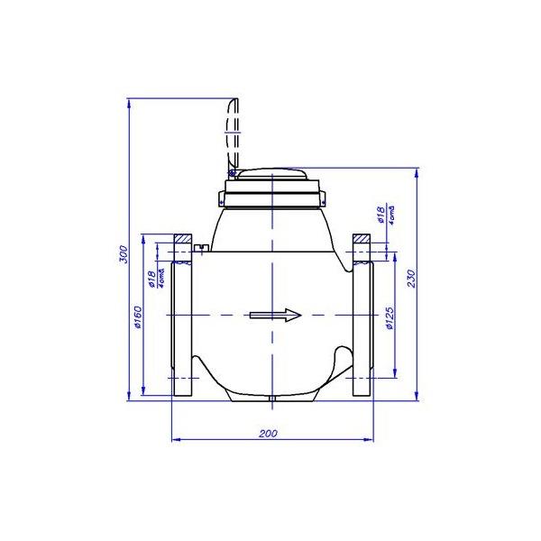 счетчики воды турбинные СВМТ